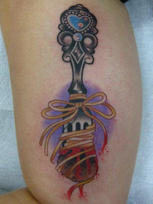 food tattoo designs (11)