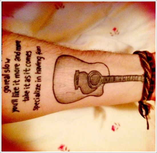guitar tattoo designs (1)