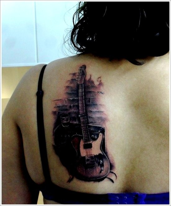 guitar tattoo designs (10)