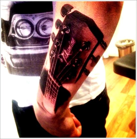 guitar tattoo designs (19)