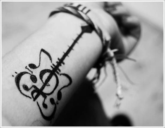 guitar tattoo designs (2)