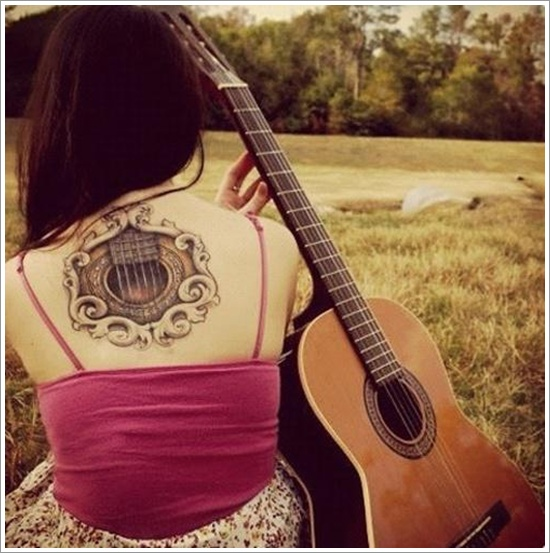 guitar tattoo designs (3)