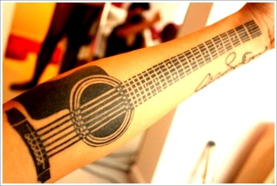 guitar tattoo designs (6)