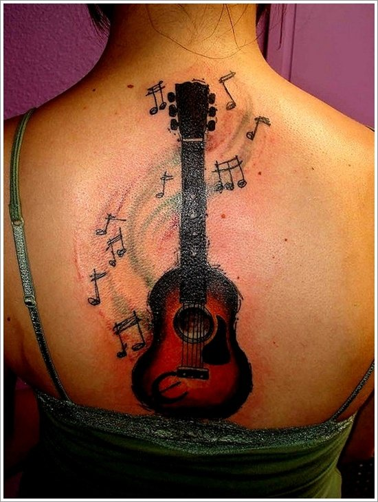 guitar tattoo designs (8)