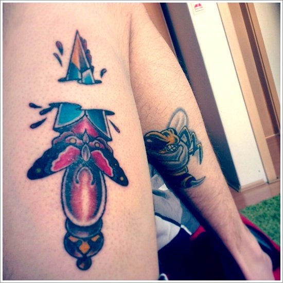 knife or draggr tattoo (26)