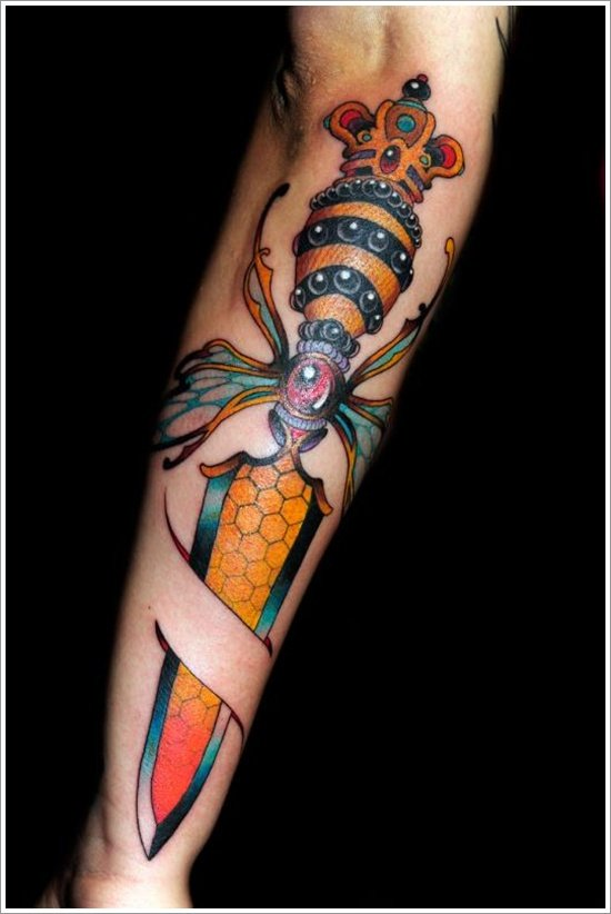 knife or draggr tattoo (4)