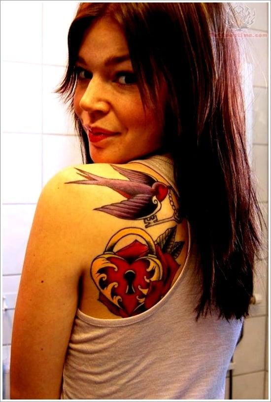 lock tattoo design (10)