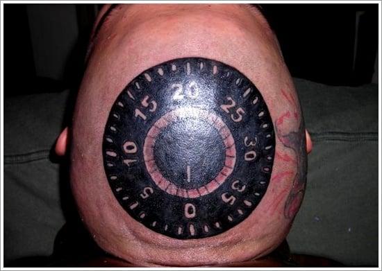 lock tattoo design (15)