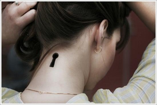 lock tattoo design (23)
