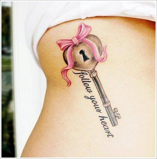 lock tattoo design (28)