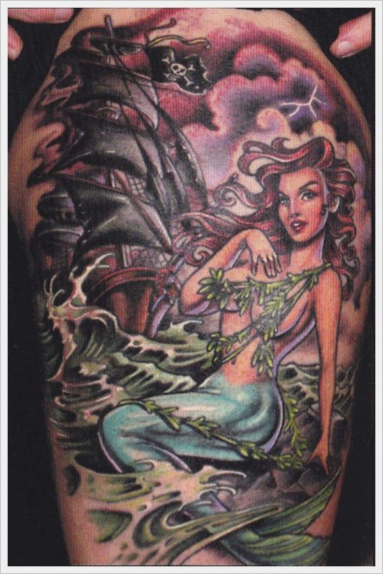 Mermaid Tattoos (17)