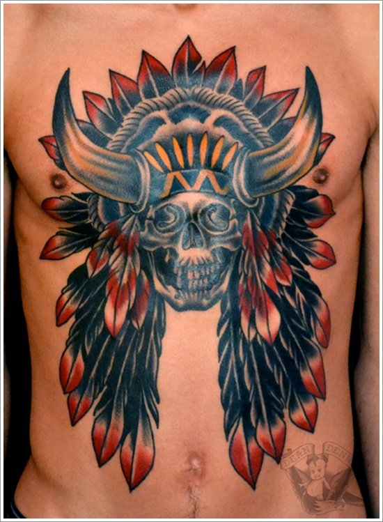 Here are some other Native American Tattoo Designs for Men and Women .