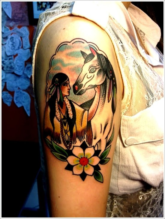 40 native american tattoo designs for men and women tattoona