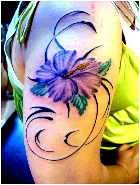 orchid tattoo design (12)