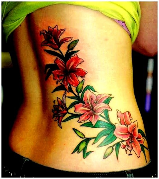 orchid tattoo design (21)