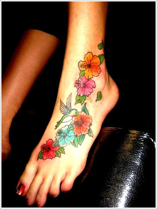 orchid tattoo design (8)