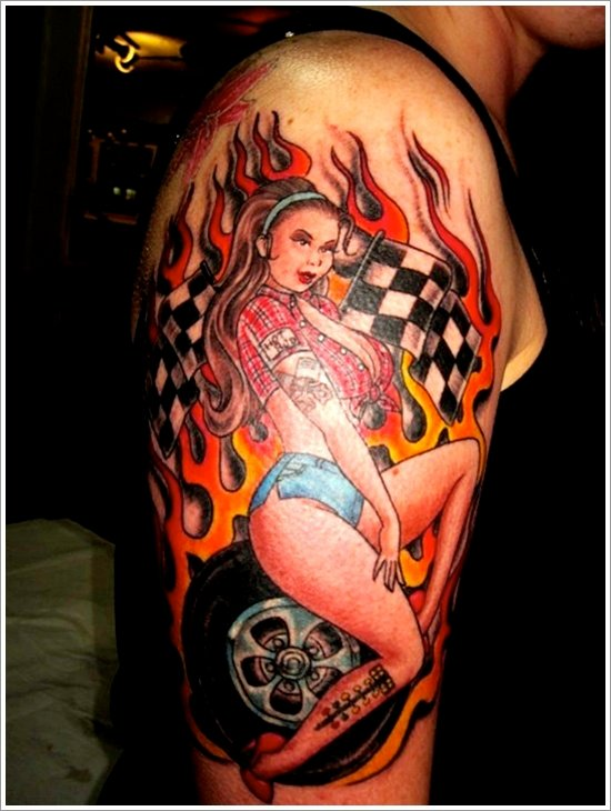pin up girl tattoos (16)