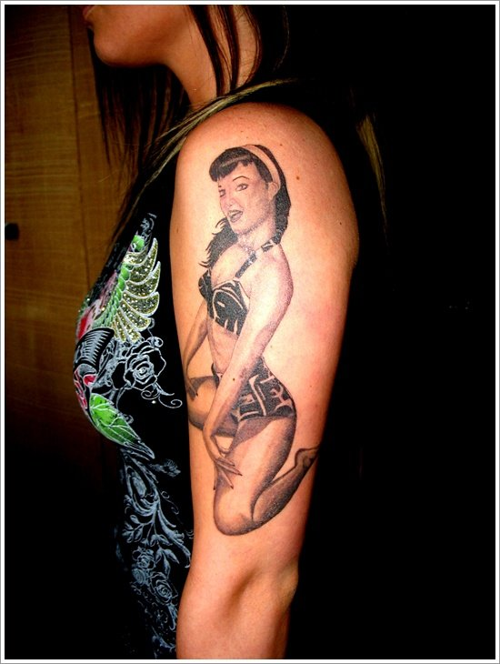 pin up girl tattoos (17)