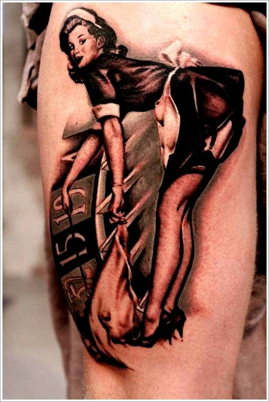 pin up girl tattoos (18)