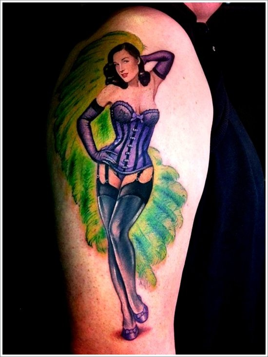 pin up girl tattoos (2)