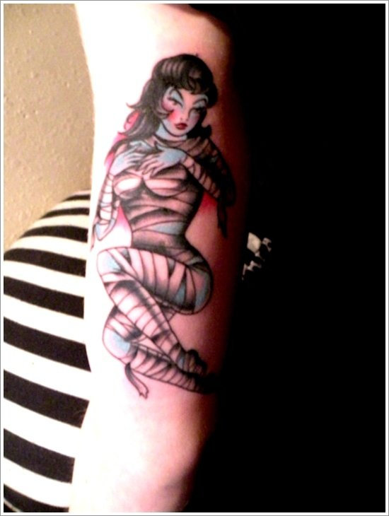 pin up girl tattoos (31)