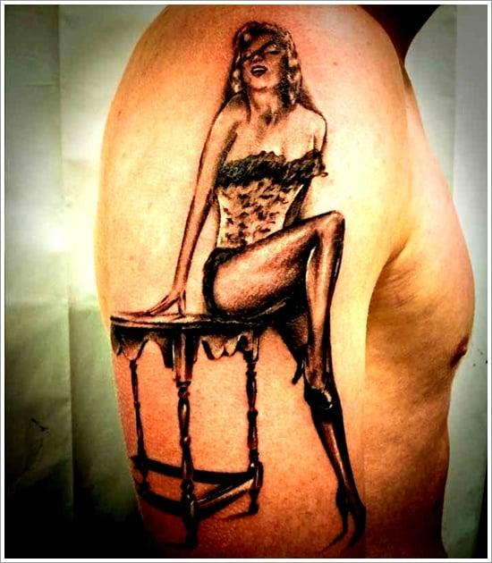 pin up girl tattoos (6)