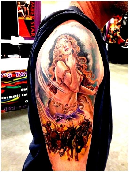 pin up girl tattoos (9)