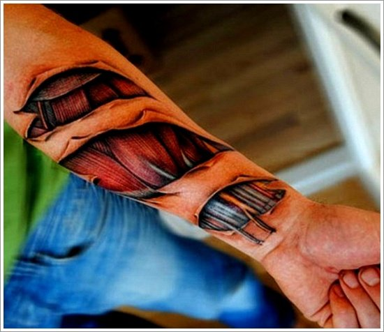 ripped skin tattoo (3)