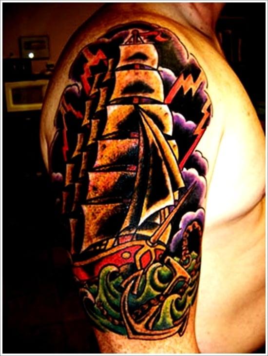 ship tattoo designs (17)