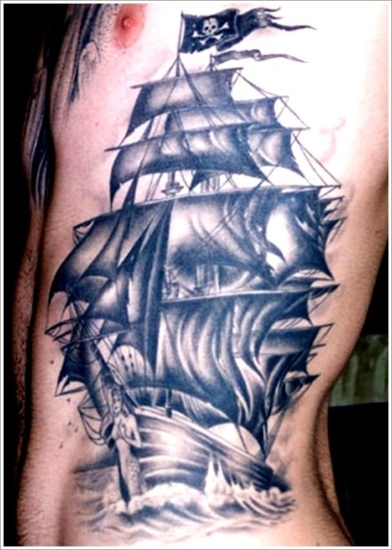 35 Regal Ship based tattoo designs