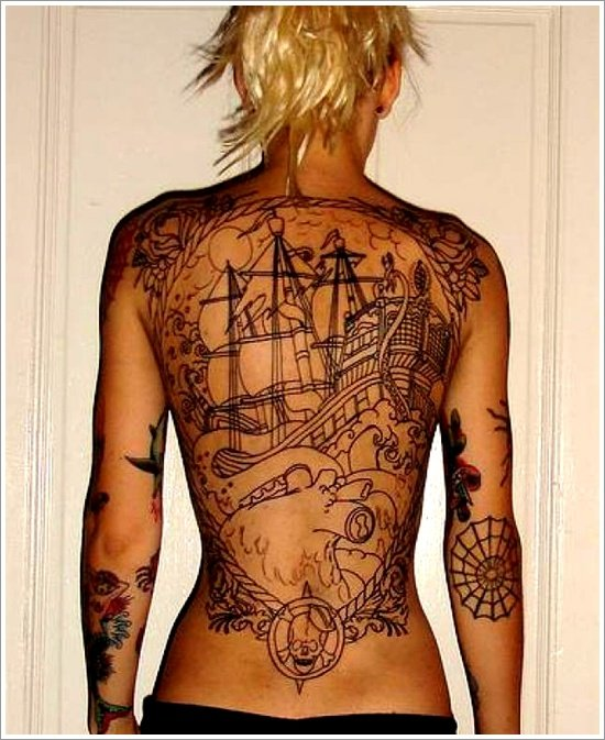 ship tattoo designs (22)