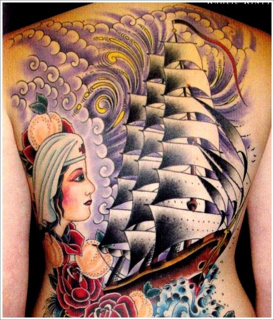 ship tattoo designs (24)