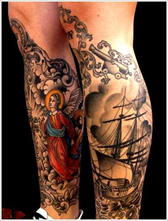 ship tattoo designs (25)