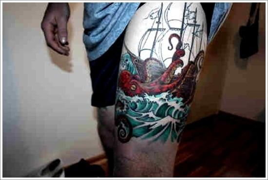 ship tattoo designs (31)