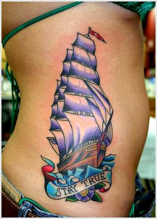 ship tattoo designs (35)
