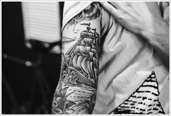 ship tattoo designs (5)