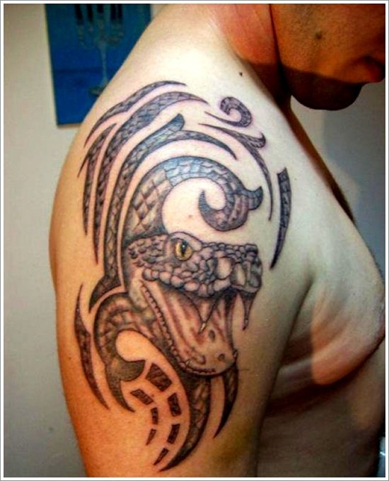 snake tattoo designs (9)