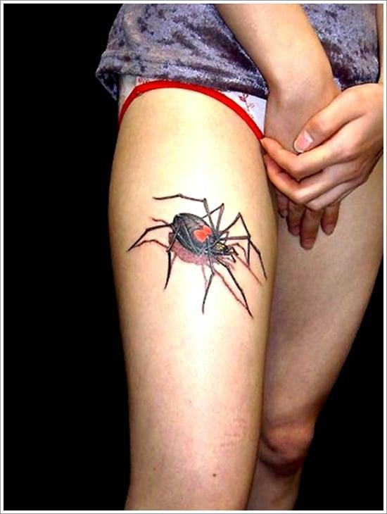 spider tattoo design (3)