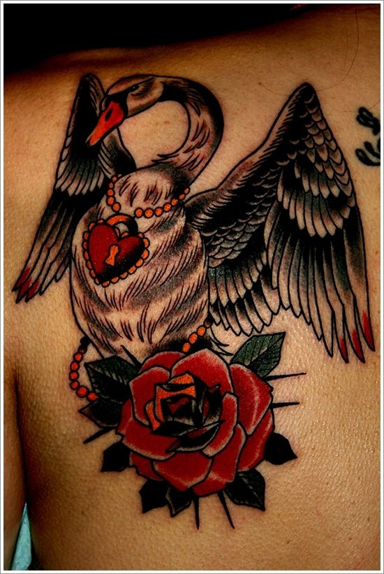 swan tattoo designs (11)