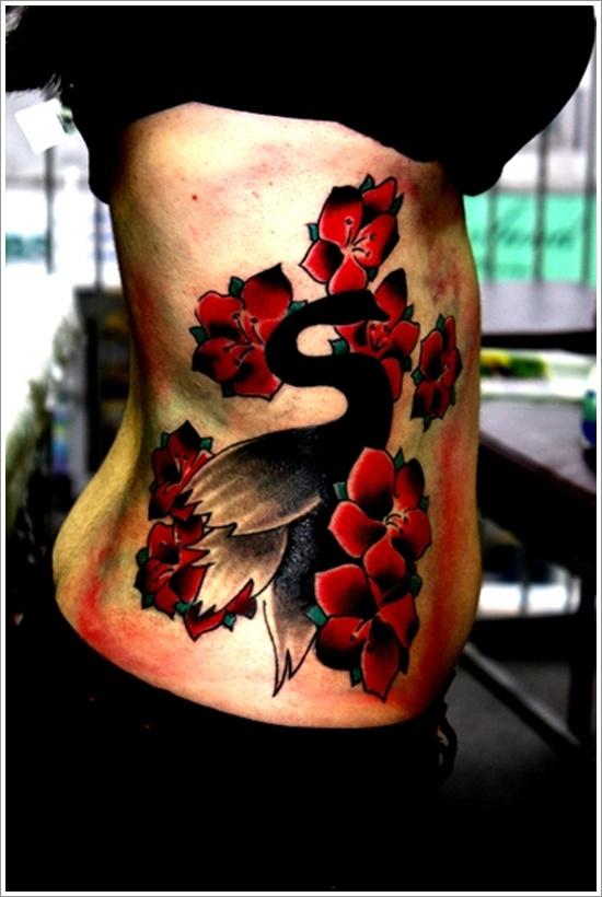 swan tattoo designs (19)