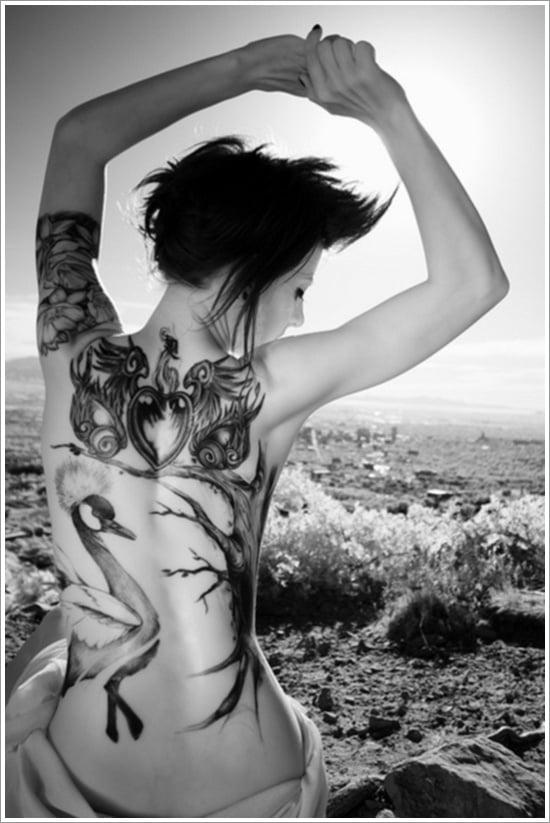 swan tattoo designs (20)