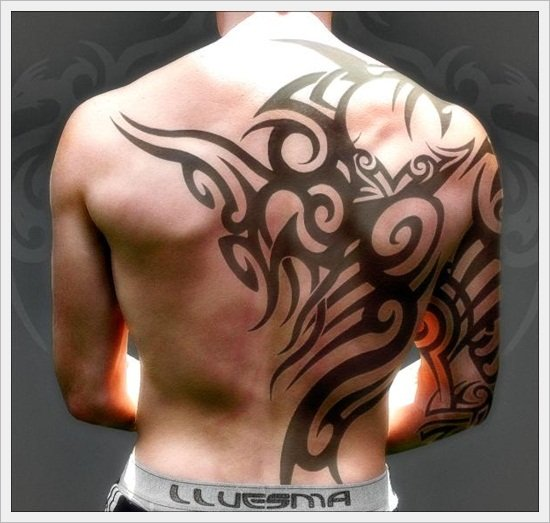 tribal back tattoos (20)