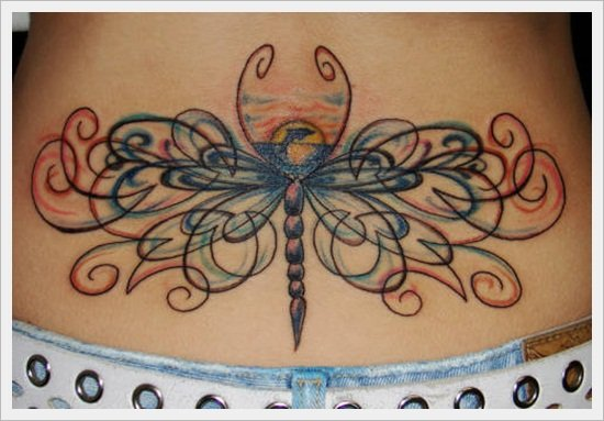 tribal back tattoos (27)