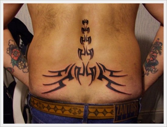 tribal back tattoos (39)