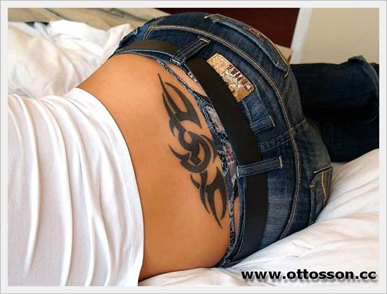 tribal back tattoos (6 )