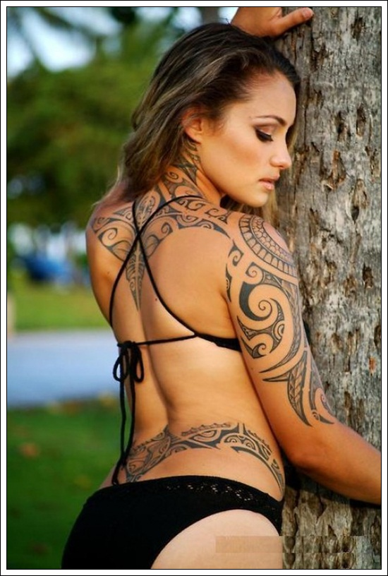 tribal tattoos for girls (12)