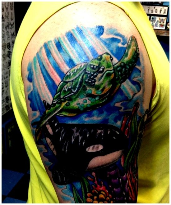 turtle tattoo designs (27)