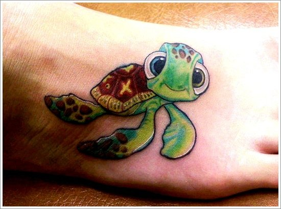 35+ Unique and Impressive Turtle Tattoo Designs 2015