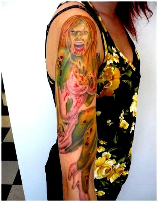 Zombie tattoo designs (15)