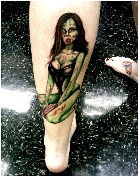Zombie tattoo designs (19)